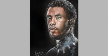 Black Panther dengan Polychromos