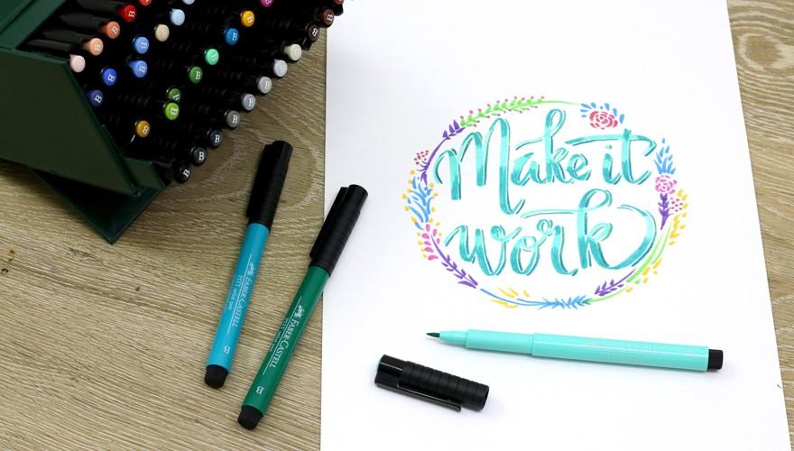 Make It Work dengan Pitt Artist Pen