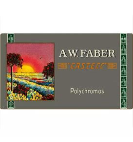 Polychromos colour pencil, 111th anniversary, tin of 36