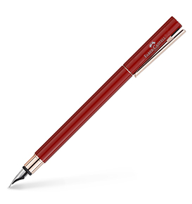 NEO Slim fountain pen red, rose gold chrome