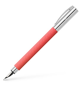 Fountain pen Ambition OpArt Flamingo, medium