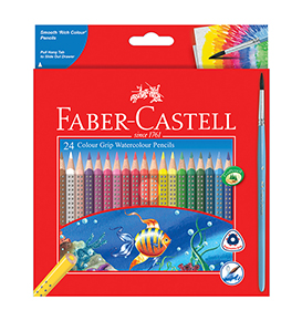 Watercolour Pencils Grip 24 L