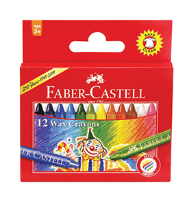Wax Crayons Regular 12 pcs