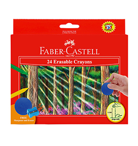 Erasable Crayons 24