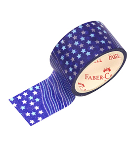 Decorative Paper Tape Dark Blue Sky