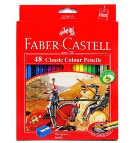 Classic colour pencils 48