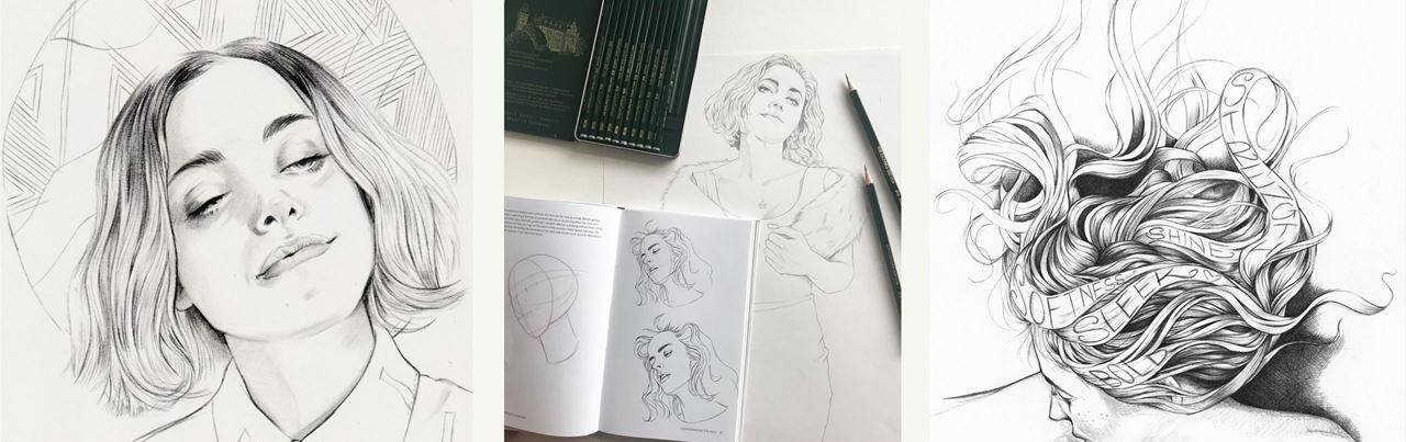 Seniman dan hobi gambar