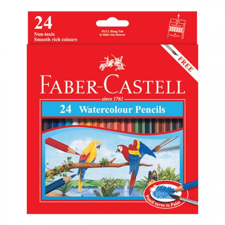 Watercolour Pencils 24 L