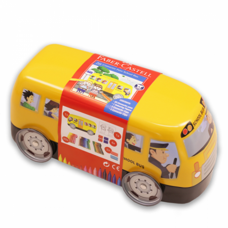 School Bus Tin