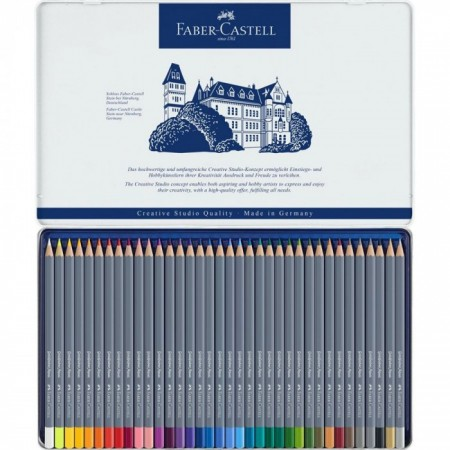 Watercolour pencils Goldfaber Aqua tin of 36