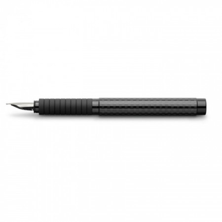 Fountain pen Essentio black carbon M