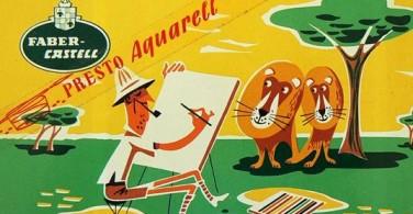Iklan produk pada tahun 1950-an