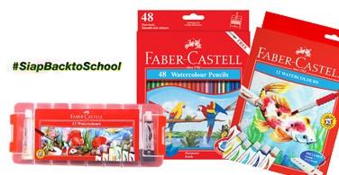 Faber-Castell Hadirkan Promo Menarik di  #SiapBacktoSchool