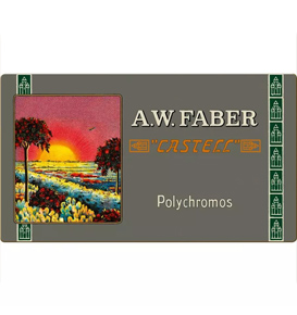 Polychromos colour pencil, 111th anniversary, tin of 36