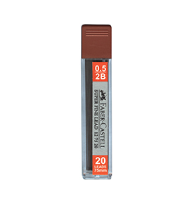 Superfine Leads 2B 0.5mm
