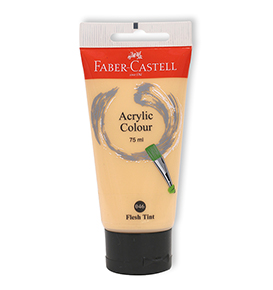 Acrylic Colour 75ml Flesh Tin