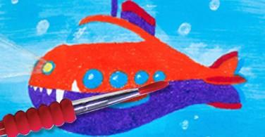 Cara mudah melukis dengan cat air