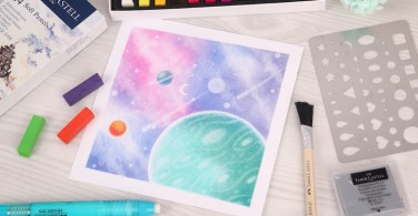 Tutorial Soft Pastel Art Space
