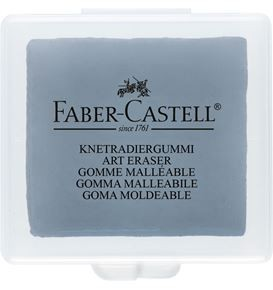 Kneadable eraser grey with plastic box 18x