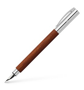 Fountain pen AMBITION pearwood brown