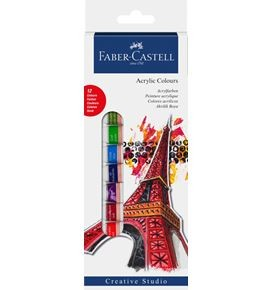 Starter kit Acrylic colours box of 12