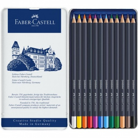 Colour pencil Goldfaber tin of 12